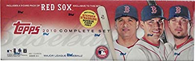 2010 Topps MLB Baseball Factory Sealed 661 Card Set Which Includes a Bonus Pack of 5 Unique Boston Red Sox Cards