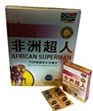 African Superman 6 Boxes of 8 Pills in Each Box