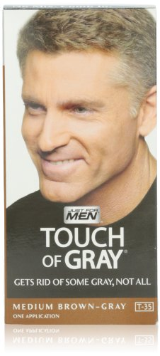Just For Men Touch Of Gray, Medium Brown-Gray,