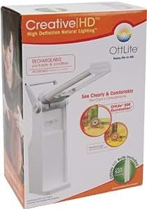 Amazon Com Ott Lite Truecolor Battery Powered Task Lamp