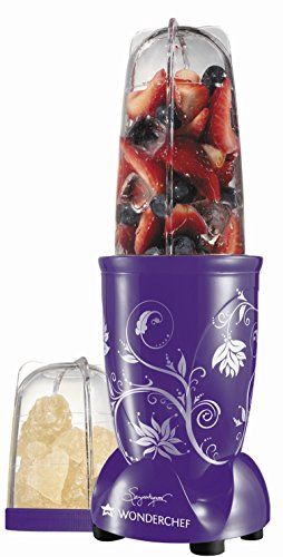 Wonderchef Nutri blend 400-Watt Juicer Mixer Grinder (Purple)