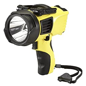 Streamlight 44900 Waypoint Spotlight with 12V DC Charge Cord, Yellow