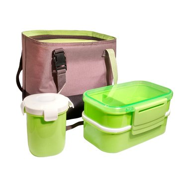 Bento Box Insulated Lunch Box Set. Best Bentobox Lunch Bag for Adults with Divided Plates, Leak Proof Containers, Cup and Cutlery for Portion Control and Healthy Eating- Reclaim Your Lunch Hour! (Bullet Lunch Bag compare prices)