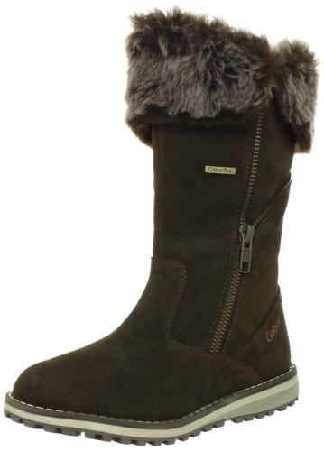 Gabor kids Mima Boots Unisex-Child Brown Braun (olive) Size: 30