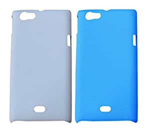 2 pieces of Winsome Deal Exclusive Hard Back Cover Case for Sony Xperia Miro ST23I