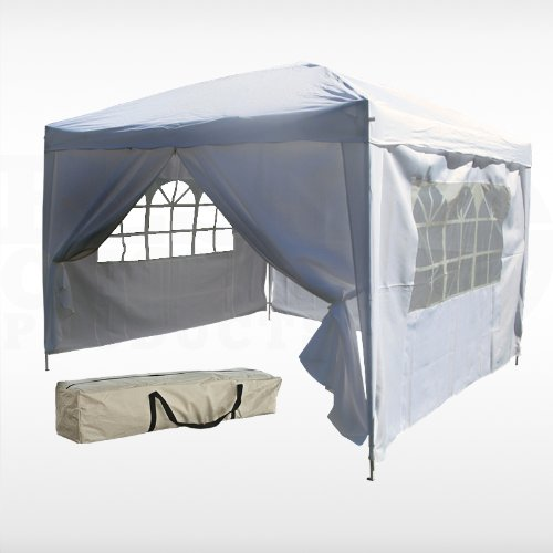 Do Not Buy This EZ Pop Up Canopy Tent Slash Gazebo Thingy!!