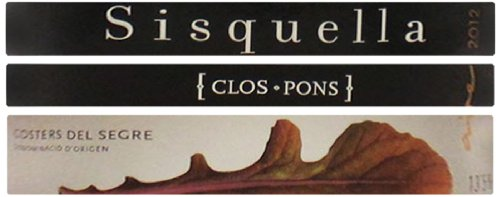 2012 Clos Pons Winery Sisquella Blend - White Costers Del Segre 750 Ml