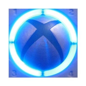 Video Games Accessories : Xbox 360 Console Controller Led Mod Ring Of Light Spare Parts Replacement Decoration (Blue)