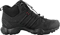 Adidas Terrex Swift R Mid GTX Boot - Men\'s Black / Vista Grey / Power Red 8.5