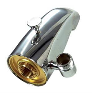 "Danco 5"" Chrome Tub Spout with Diverter with Hand Shower ..."