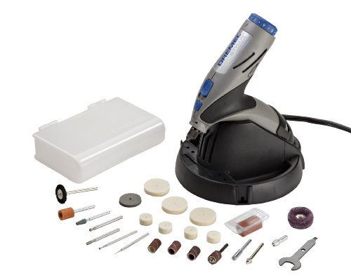 Dremel 1100-N/25 7.2-Volt Stylus Lithium-Ion Cordless Rotary Tool Kit with Docking Station