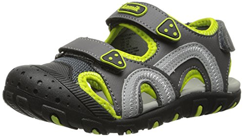 Kamik Sea Turtle Sandal (Toddler/Little Kid/Big Kid),Green,2 M US Little Kid