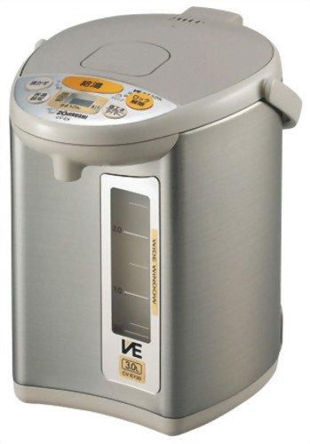 【Amazonの商品情報へ】ZOJIRUSHI マイコン沸とうVE電気まほうびん 優湯生 3.0L CV-EX30-HA グレー