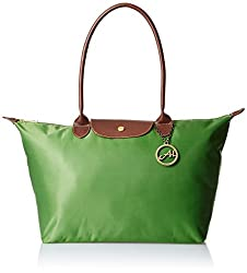 Alessia74 Women's Handbag Combo with Wallet (Green) (TY022E)