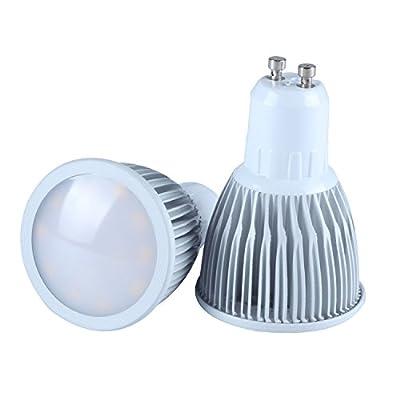 RSN® GU10 LED Spotlight Bulb 7W Warm White 3000K SMD Spot Light Lamp Ceiling Downlight for Indoor Home Bedroom LED Lamp 2pcs