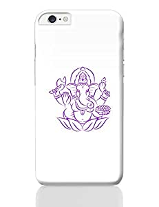 PosterGuy iPhone 6 Plus / iPhone 6S Plus Case Cover - Purple Hand Drawn Ganesha | Designed by: Codeburnerz Technologies