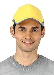 Campus Sutra Men's Cap ( CS_CP_M_PLN_YEGR _ Yellow & Grey )