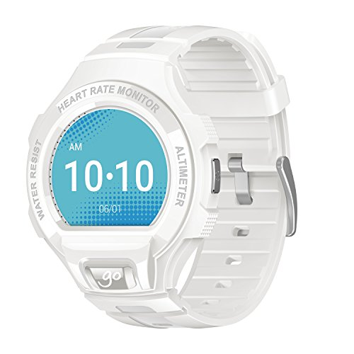 Alcatel One Touch Go Smartwatch, Bianco/Grigio