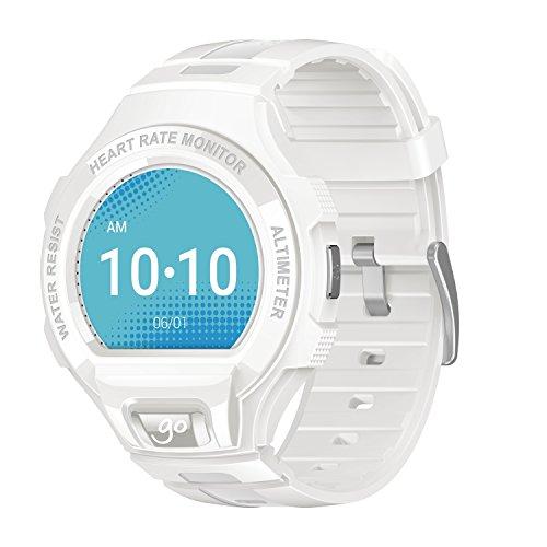 Alcatel Onetouch Go Watch - Color blanco y gris claro