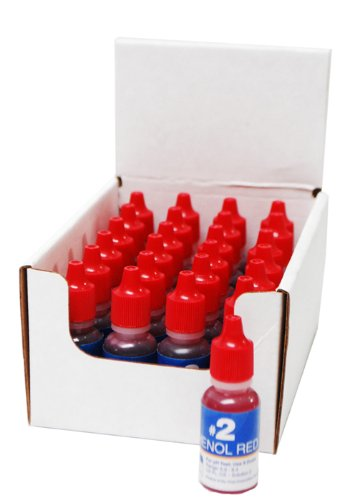 Oreq Ts821Db No.2 Phenol Red Test Solution For Dual Test Kit, 1/2-Ounce