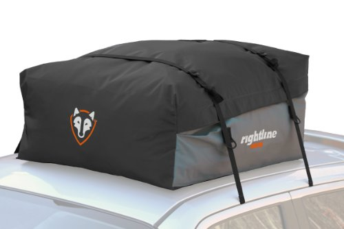 Rightline Gear 100S50 Sport Jr. Car Top Carrier, 9 cu ft, Waterproof, Works With or Without Roof Rack (Roof Rack Waterproof Bag compare prices)