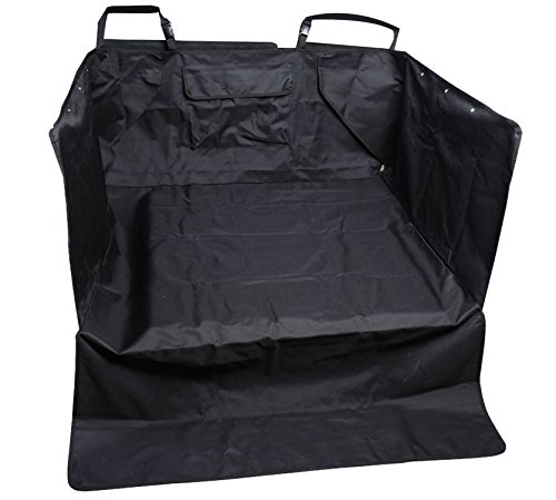 Leader Accessories Black Pet Seat Cover for Cars Cargo Cover Liner Bed for Dog, Trucks, Suv's and Vehicles (Cargo Liners For Dogs compare prices)