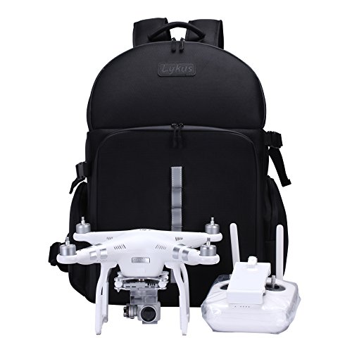 Lykus water resistant Drone Quadcopter Backpack for DJI Phantom