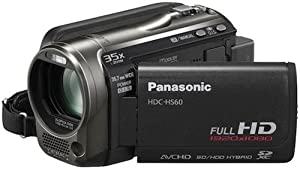 Panasonic HDC-HS60 Caméscope à disque dur 120 Go- Port SD -Full HD Zoom 35 x Noir