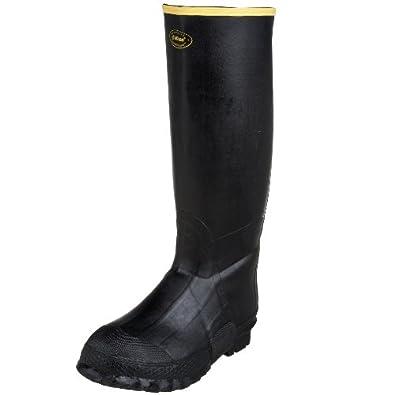"LaCrosse Men's 16"" ZXT Insulated Knee Boot,Black,6 M US"