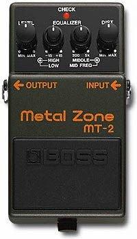 BOSS ディストーションMetal Zone メタル・ゾーン MT-2
