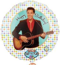 ELVIS PRESLEY HAPPY BIRTHDAY TO YOU Singing Balloon