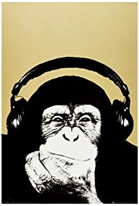 1art1 39366 Steez - Lounge, Monkee Poster (91 x 61 cm)