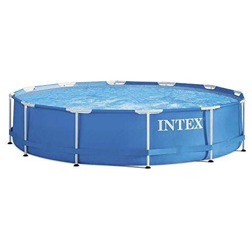 Aufstellpool Frame Pool Set Rondo, ohne Filterpumpe, blau, Ø 366 x 76 cm