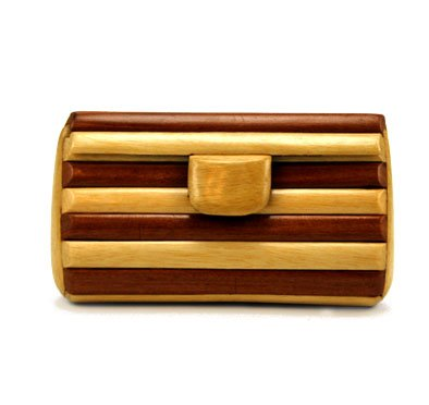 Wooden Change Purse