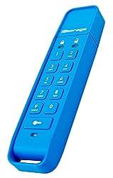 Istorage Is-Fl-Dap-Db-16 Datashur Personal 16Gb 256 Bit Usb Flash Drive -Blue