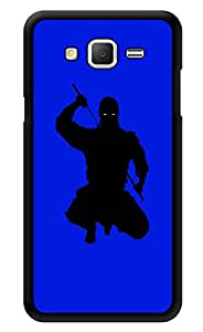 "Humor Gang Midnight Ninja Printed Designer Mobile Back Cover For ""Samsung Galaxy On5"" (3D, Glossy, Premium Quality Snap On Case)"