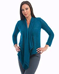 Stanzino Women's MADE IN USA Long Sleeve Assorted Sweater Cardigans