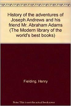 A critiques of joseph andrews book iv