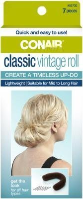 Conair 55730 Classic Vintage Hair Roll 7 Piece Kit (Conair Hair Roll compare prices)