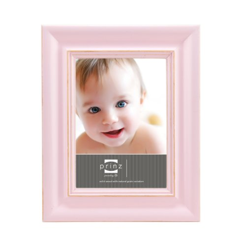Prinz So Sweet 4-Inch by 6-Inch Pink Pine Frame
