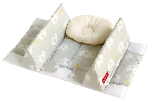 ファルスカ ママもぐっすり ベビーの眠りを安心サポート ベッドインベッド エイド エレファント&バナナ 746087