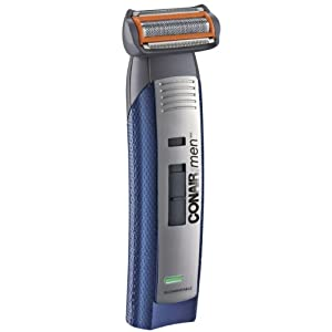 Conair for Men Titanium Face and Body Groomer