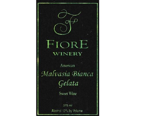 Nv Fiore Winery Malvasia Bianca Gelata Dessert Wine 375 Ml