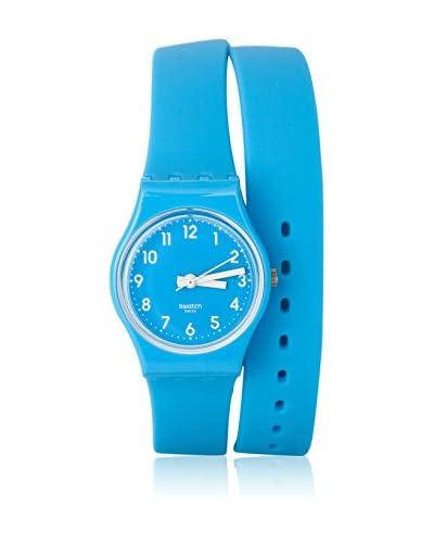Swatch Reloj de cuarzo Woman LADY CYAN LS112 33.0 mm