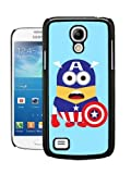 COVER FOR SAMSUNG S4 MINI i9190 MINIONS MARVEL DC CAPTAIN AMERICA CASE & SCREEN PROTECTOR - BK-T565