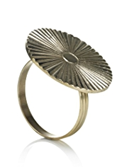 Deco Fan Napkin Ring