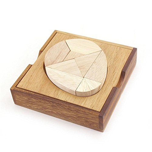Egg Tangram Wooden Puzzle