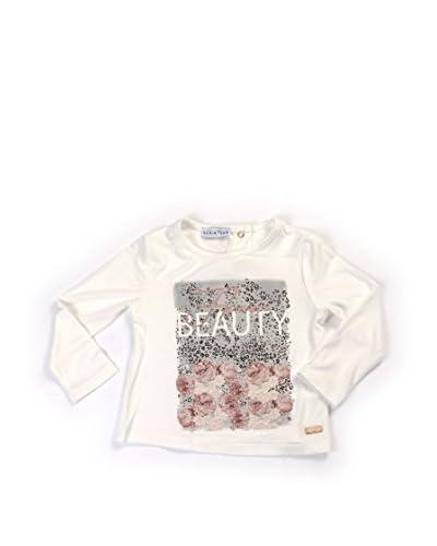 Krizia Teen Camiseta Manga Larga Blanco