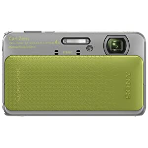 Sony Cyber-shot DSC-TX20 16.2 MP Exmor R CMOS Digital Camera with 4x Optical Zoom and 3.0-inch LCD (Green) (2012 Model)