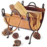 Pilgrim 18518 Folding Log Carrier - Vintage Iron